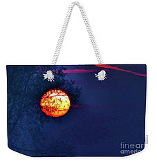 Sunrise Paint Weekender Tote Bag