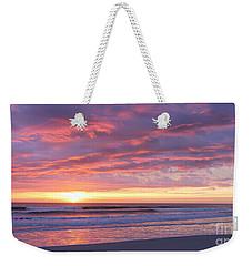 Sunrise Pinks Weekender Tote Bag by LeeAnn Kendall