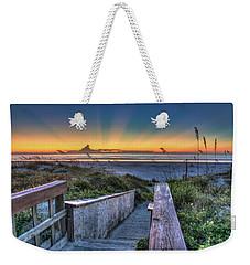 Sunrise Radiance Weekender Tote Bag