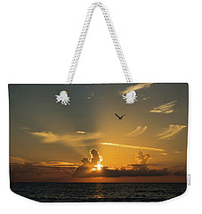 Sunrise Rays Delray Beach Florida Weekender Tote Bag