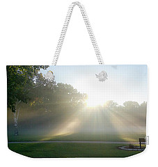 Weekender Tote Bag featuring the photograph Sunrise  by Ricky L Jones