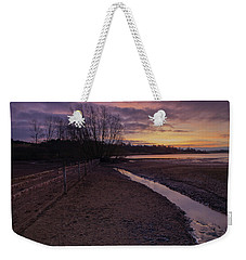 Sunrise, Rutland Water Weekender Tote Bag