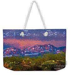 Sunrise Serenade 3 Weekender Tote Bag