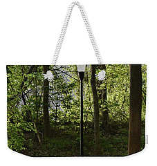Weekender Tote Bag featuring the photograph Sunrise Service by Skip Willits