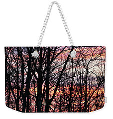 Sunrise Silhouette And Light Weekender Tote Bag