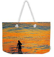 Sunrise Silhouette Weekender Tote Bag by Kathy Long