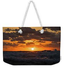 Sunrise Splash Surf Delray Beach Florida Weekender Tote Bag