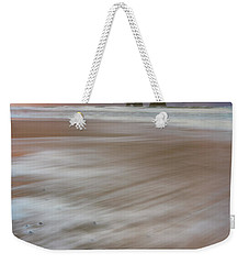 Weekender Tote Bag featuring the photograph Sunrise Storm At Twin Rocks by Darren White