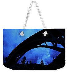 Sunrise Storm Weekender Tote Bag by Sean Sarsfield