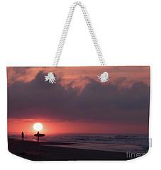 Sunrise Surfer Weekender Tote Bag