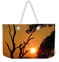 Sunrise Trees Weekender Tote Bag