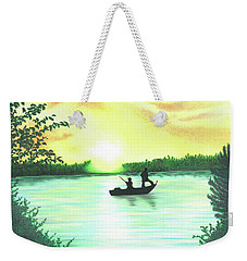 Sunrise Weekender Tote Bag by Troy Levesque
