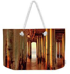 Sunrise Under The Pier Weekender Tote Bag