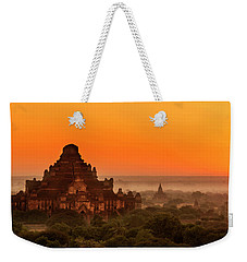 Weekender Tote Bag featuring the photograph Sunrise View Of Dhammayangyi Temple by Pradeep Raja Prints