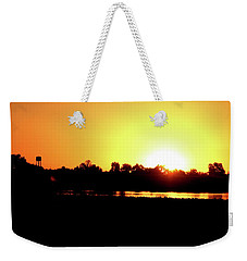 Sunrise Water Tower Weekender Tote Bag