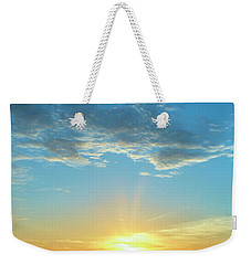 Sunrise With Flare Weekender Tote Bag