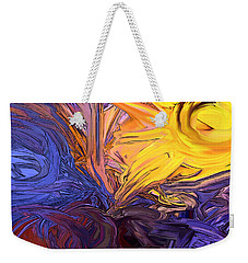 Sun's Rays Weekender Tote Bag