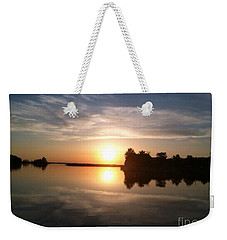 Sunset @ Rend Lake Weekender Tote Bag