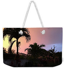 Sunset 2 Weekender Tote Bag by Val Oconnor