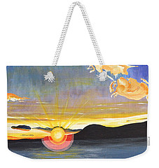 Sunset #6 Weekender Tote Bag by Donna Blossom