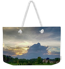 Weekender Tote Bag featuring the photograph Sunset After The Storm by Ricky L Jones