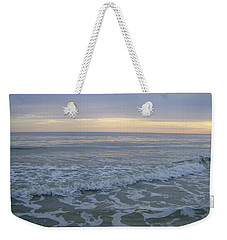 Sunset Along Oak Island Weekender Tote Bag