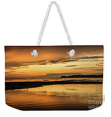 Sunset And Reflection Weekender Tote Bag