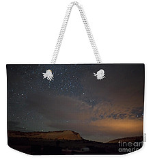 Sunset And Stars At White Pocket Weekender Tote Bag by Anne Rodkin