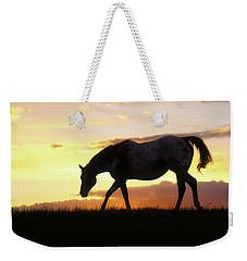 Sunset Appy Weekender Tote Bag