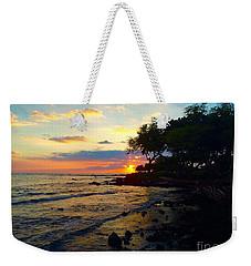 Sunset At A-bay Weekender Tote Bag
