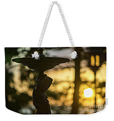 Weekender Tote Bag featuring the photograph Sunset At Alameda Apodaca Cadiz Spain by Pablo Avanzini