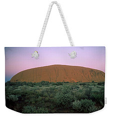 Sunset At Ayre's Rock Weekender Tote Bag