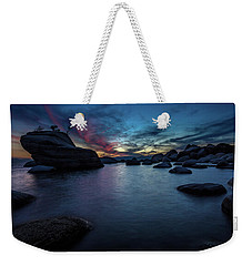 Sunset At Bonsai Rock Weekender Tote Bag