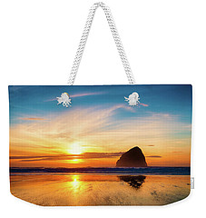 Sunset At Cape Kiwanda Weekender Tote Bag