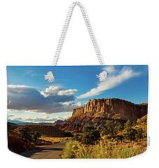 Sunset At Capitol Reef Weekender Tote Bag
