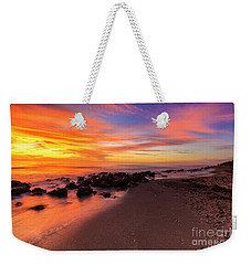 Sunset At Casperson Beach 2 Weekender Tote Bag