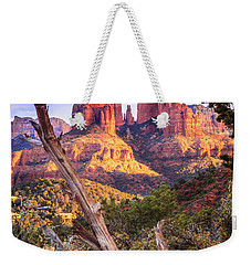 Sunset At Cathedral Rock Weekender Tote Bag