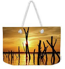 Sunset At Cedar Bluff -01 Weekender Tote Bag by Rob Graham