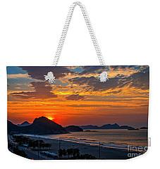 Sunset At Copacabana Weekender Tote Bag