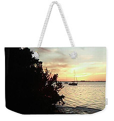 Sunset At Crystal Beach Weekender Tote Bag