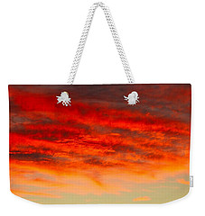 Sunset At Eaton Rapids 4826 Weekender Tote Bag