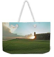 Sunset At El Morro Weekender Tote Bag