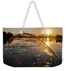 Sunset At Gator Hole 2 Weekender Tote Bag