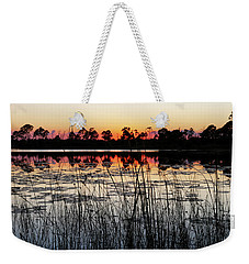 Sunset At Gator Hole Weekender Tote Bag