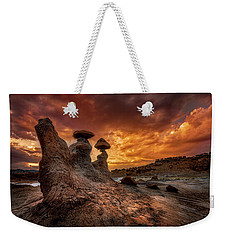 Sunset At Goblin Valley Weekender Tote Bag