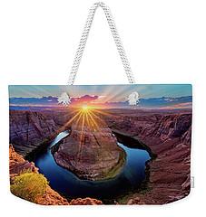 Sunset At Horseshoe Bend Weekender Tote Bag