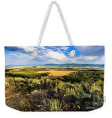 Sunset At Jackson Hole Weekender Tote Bag
