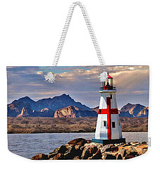 Sunset At Lake Havasu Weekender Tote Bag