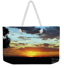 Sunset At Little River Victoria Weekender Tote Bag
