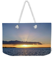 Sunset At Lough Derg Weekender Tote Bag